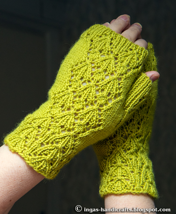 Bouquet Mitts