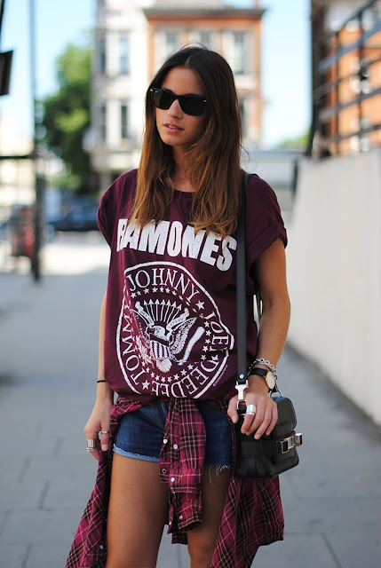 outfits para conciertos de rock