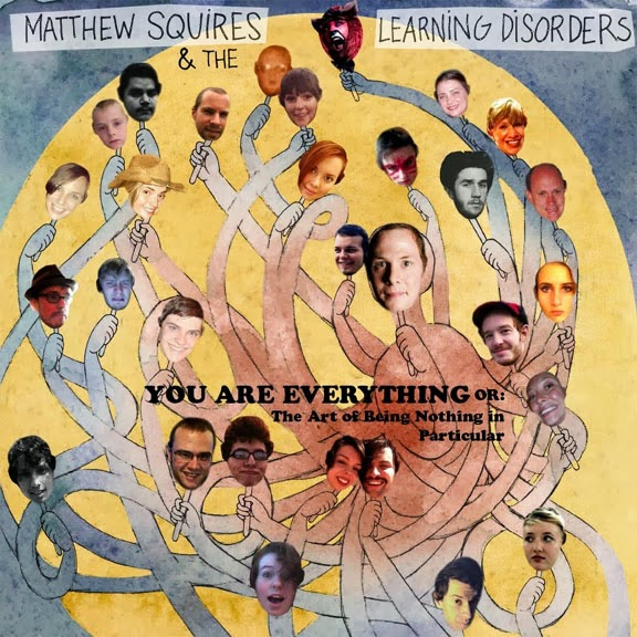 "Album Review:  ""You Are Everything or: The Art of Being Nothing in Particular"" by Matthew Squires and the Learning Disorders"