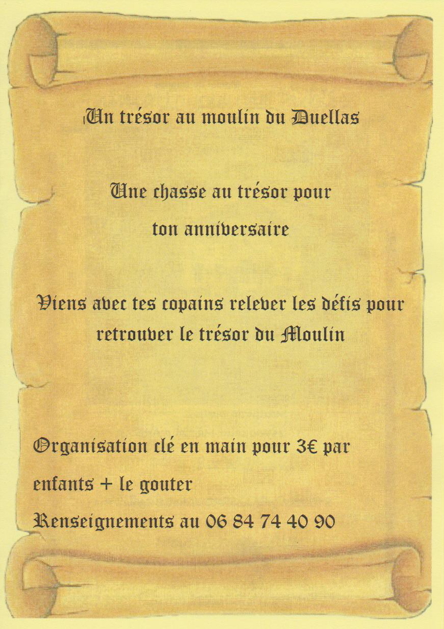 Chasse Aux Tresors Anniversaire