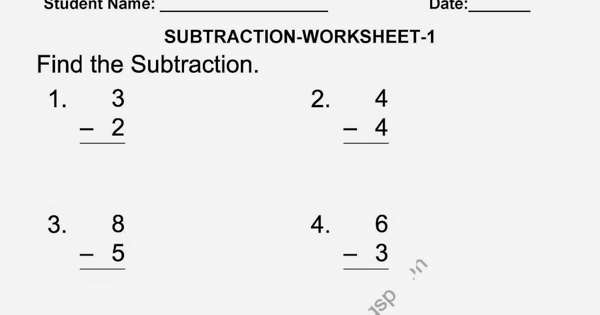 Subtraction Worksheets » Subtraction Worksheets Grade 2