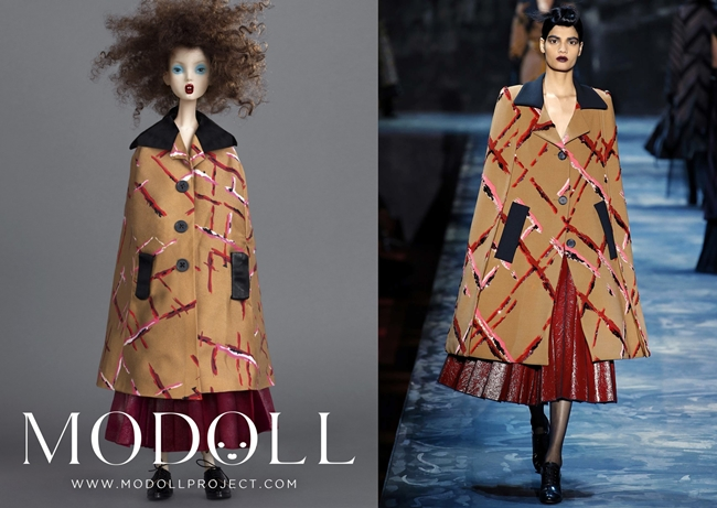 Lindsey Wixson Modoll by Santiago & Mauricio 2015 Fall 8 Looks