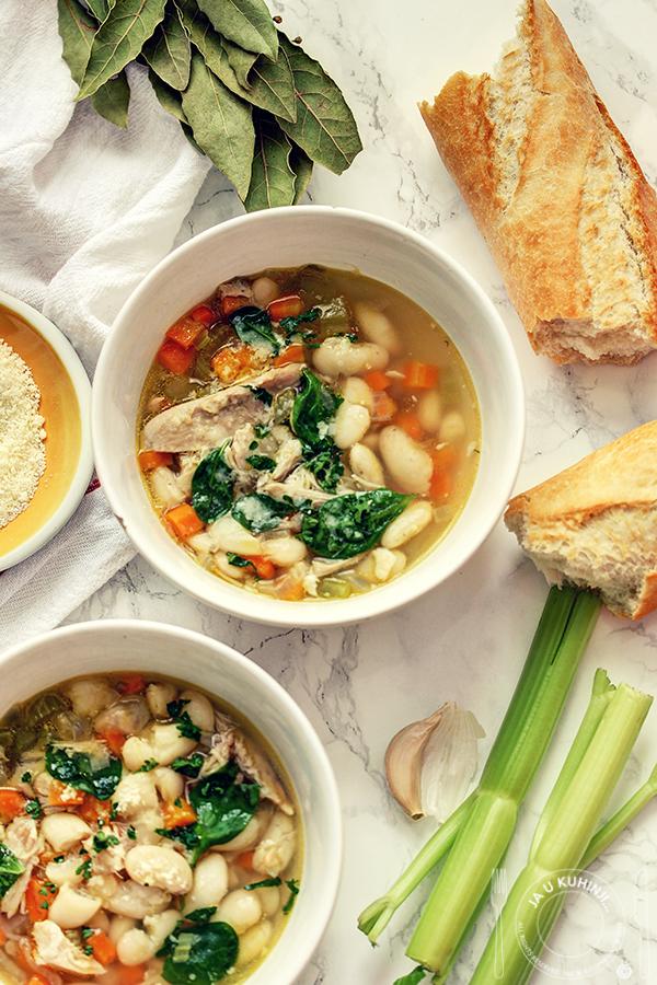 Supa sa piletinom i belim pasuljem