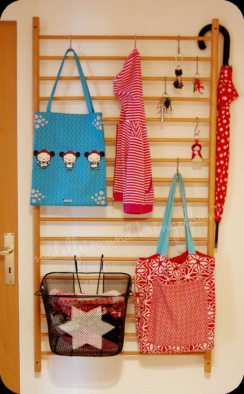 Upcycling Garderobe DIY Wohnen