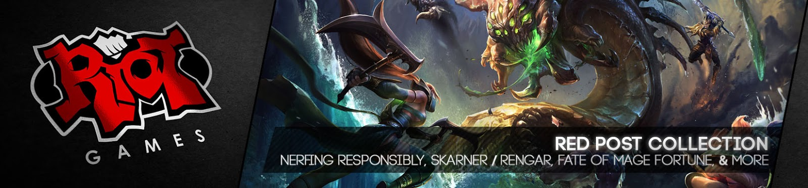 Skarner Quotes: Surrender At 20: Red Post Collection: Morello On Nerfing