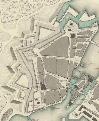 Plan de Saint-Gervais vers 1841