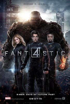 Fantastic Four 2015 Dual Audio Hindi 720p HDRip 750MB