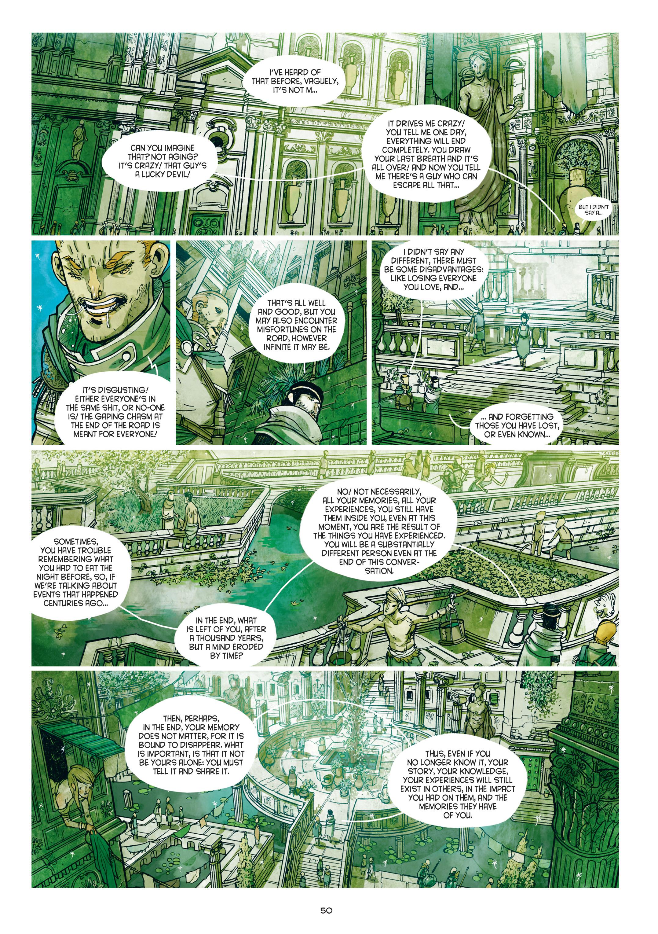 Read online Adrastée comic -  Issue #1 - 51