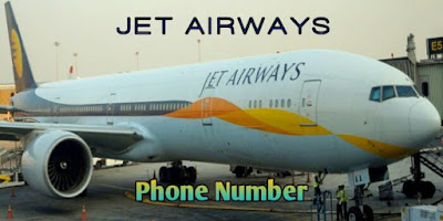 Jet Airways Customer Care Number, Jet Airways Toll Free Number India