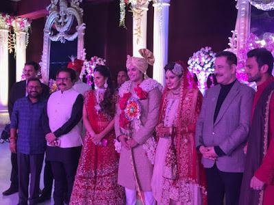 subrato-roy-at-Sania-Mirza-sister-Anam-Mirza-wedding