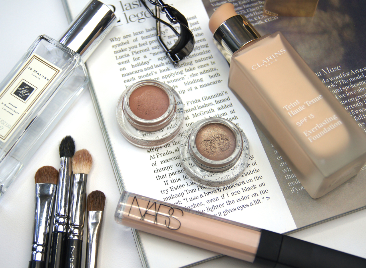 topshop nude eye contour bare undressed cream eyeshadow review swatches