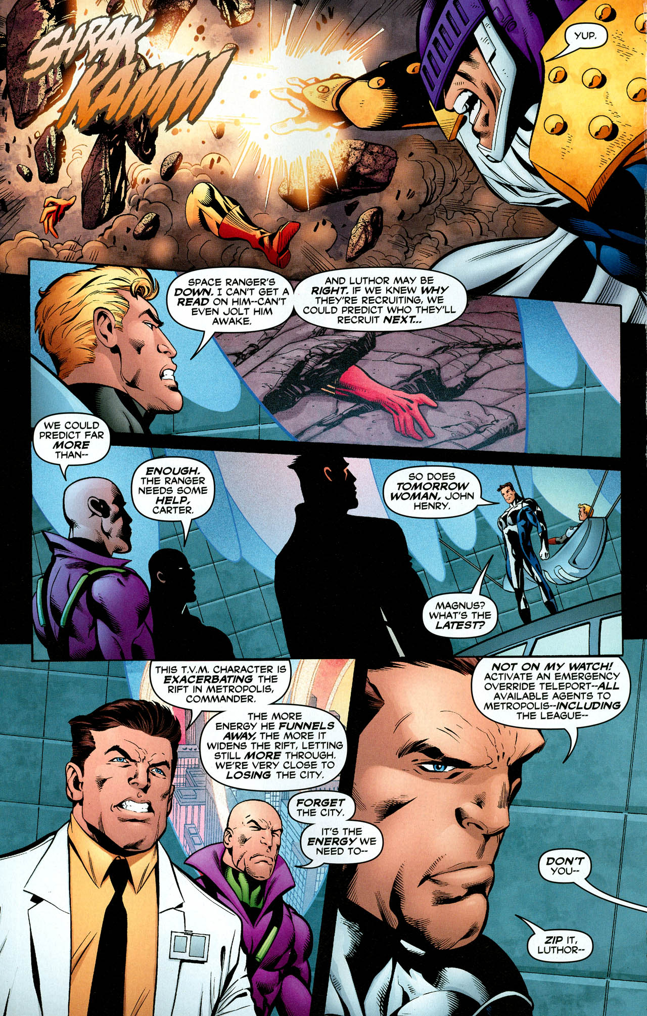 Read online Trinity (2008) comic -  Issue #29 - 22