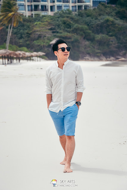 Portrait Photoshoot at Taaras Redang Beach Spa Resort Redang Island