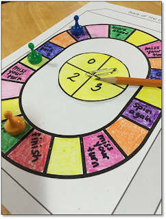 create a game board as part of a Design a Cereal Box Media literacy project.