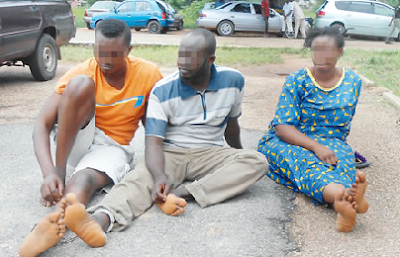 Pictured! Nigerian Housewife Fakes Own Kidnap To Extort Money From Husband