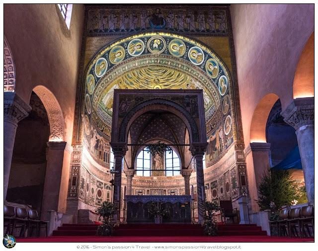 Parenzo cattedrale interno