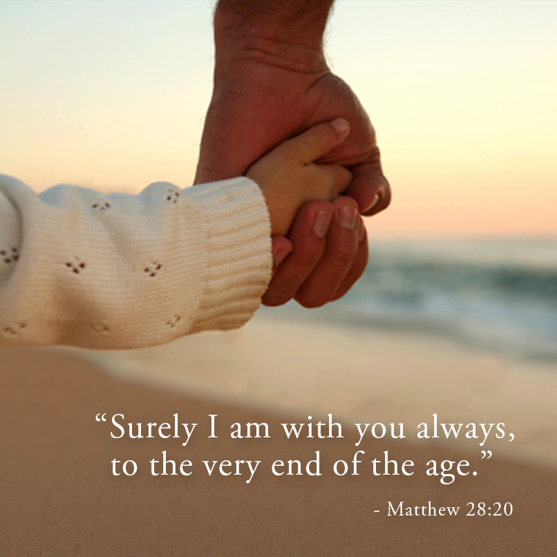 Surely I Am With You Always To The Very End Of The Age Matthew 28