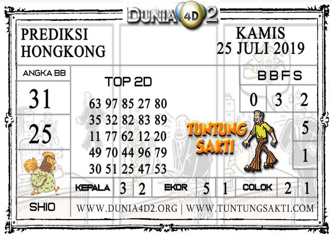 """Prediksi Togel """"HONGKONG"""" DUNIA4D 25 JULI 2019"""