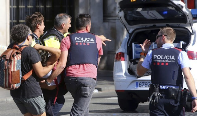 Barcelona terror attack: I offer my condolences to the families of victims of the terrorist attack in Barcelona.