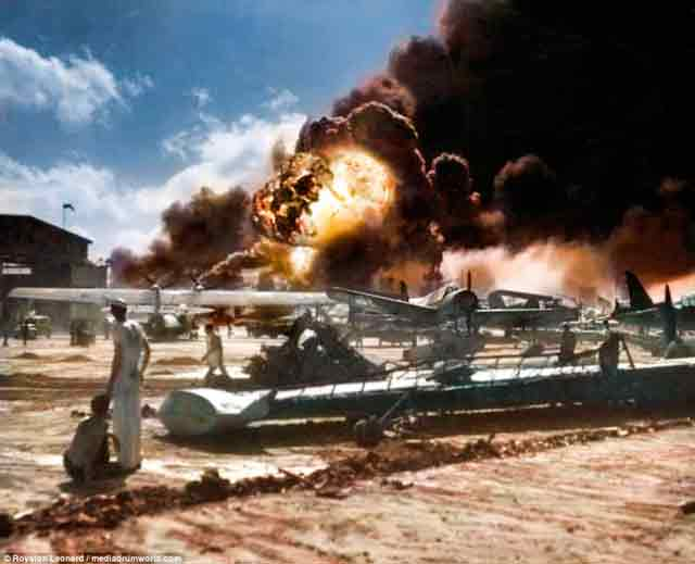 Pearl Harbor attack 7 December 1941 worldwartwo.filminspector.com