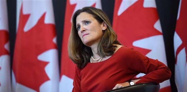 Canadá emite nueva lista con 14 venezolanos sancionados