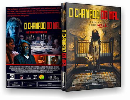 CAPA DVD – O CHAMADO DO MAL DVD-R OFICIAL