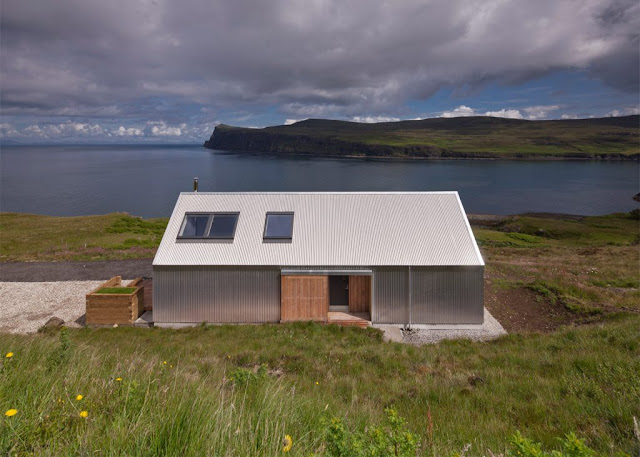 The Tinhouse Is A Holiday Home On The Scottish Island 4