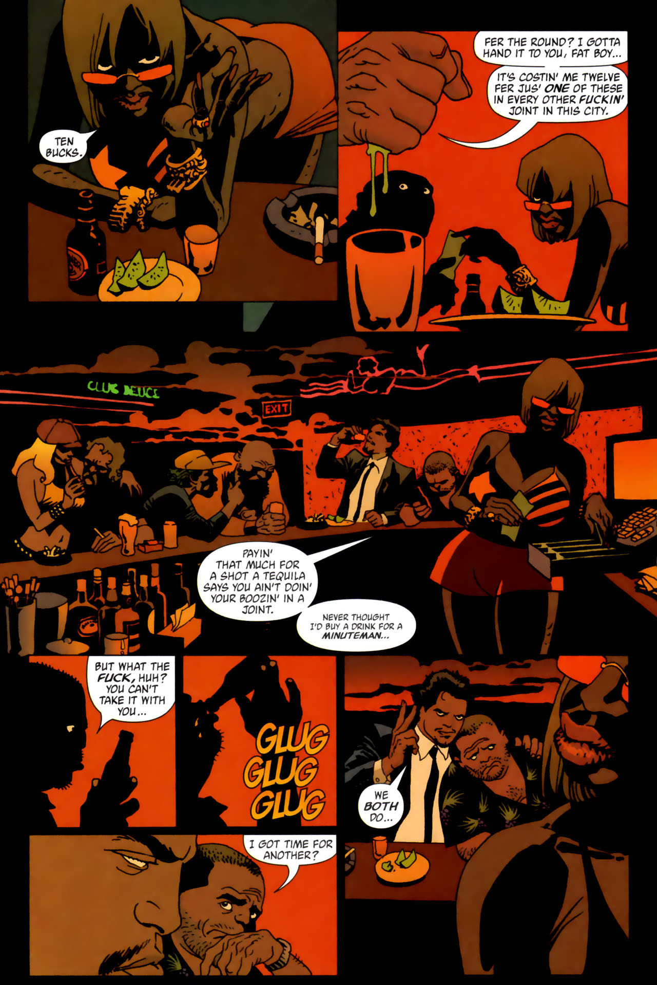 Read online 100 Bullets comic -  Issue #61 - 11