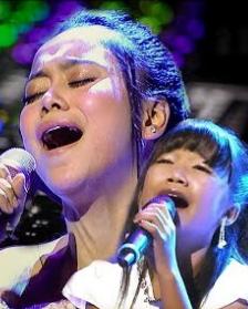 Duet Terbaik Lesti Feat Zainatul Hayat Si Kecil Mp3 Bikin Merinding Penonton,Lesti Da, Zainatula Hayat, Dangdut,