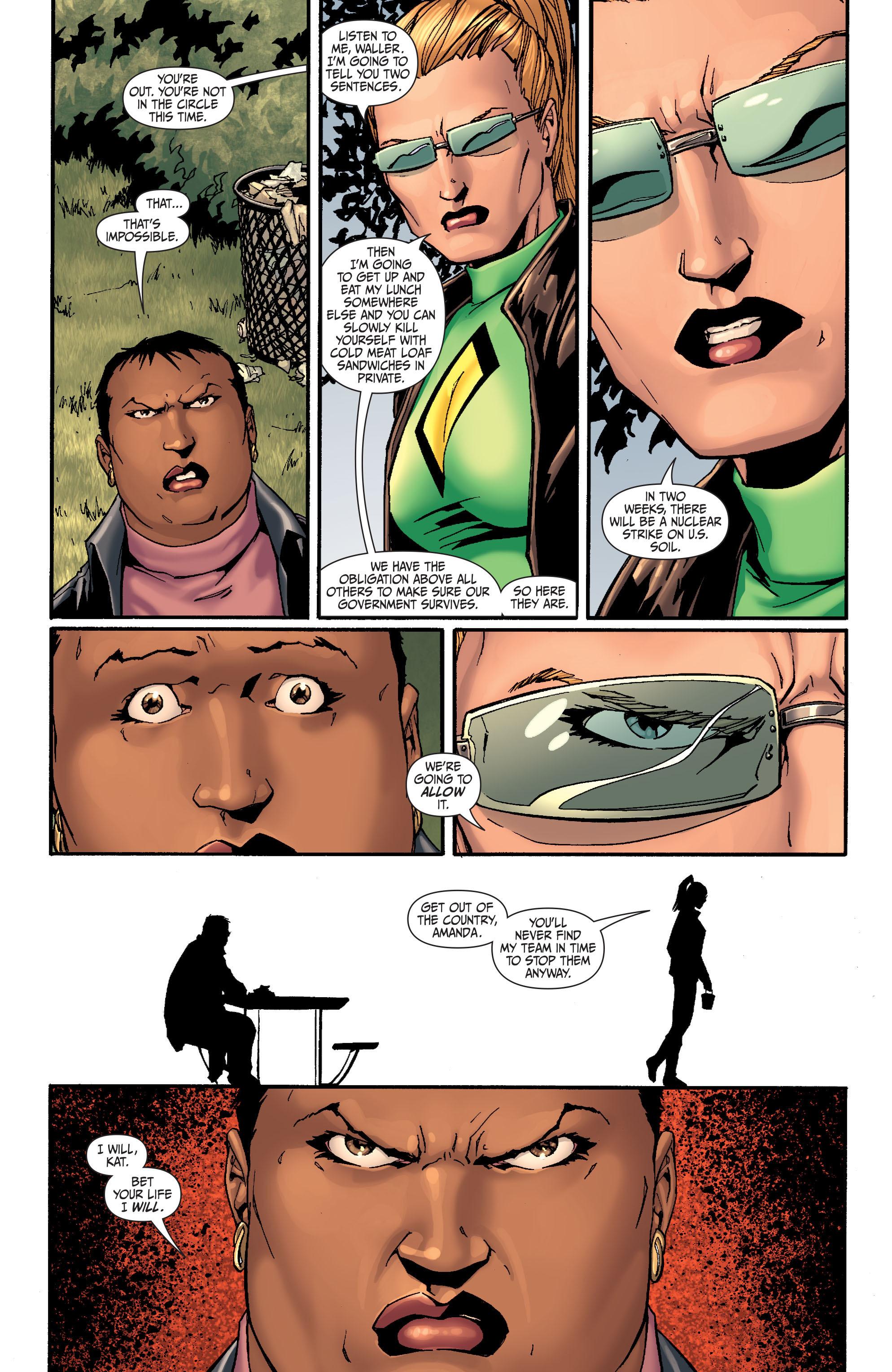 Read online Secret Six (2008) comic -  Issue #26 - 8