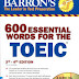 600 Essential Words for TOEIC - Barron's