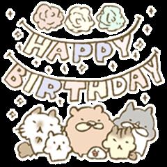 Happy birthday to you!!!!!!!!!!!!!!
