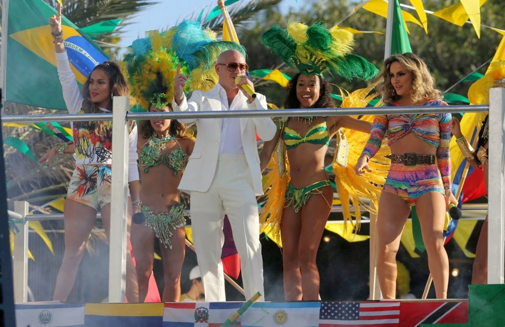 Jennifer Lopez, Pitbull, Claudia Leitte video We are one
