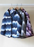 Lilly Knitted Cape - warm bed jacket