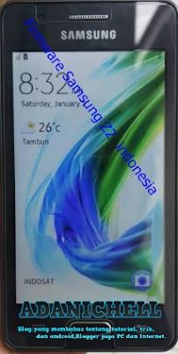 Firmware Samsung Z2 SM-Z200F indonesia