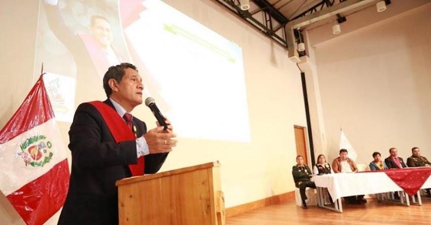 Gobierno aprobó plan para auditoría en las UGEL a propuesta del nuevo titular de la Asamblea Nacional de Gobiernos Regionales (ANGR)