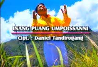Lirik Lagu Inang Puang Umpoissanni (Daniel Tandirogang)