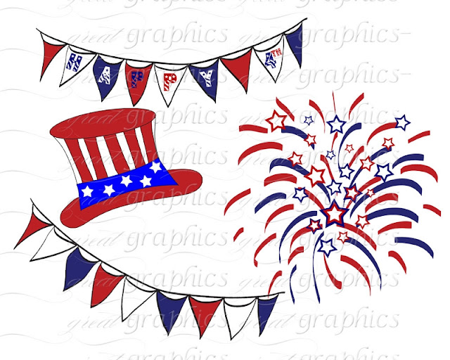 cliparts Of 4th july 2017
