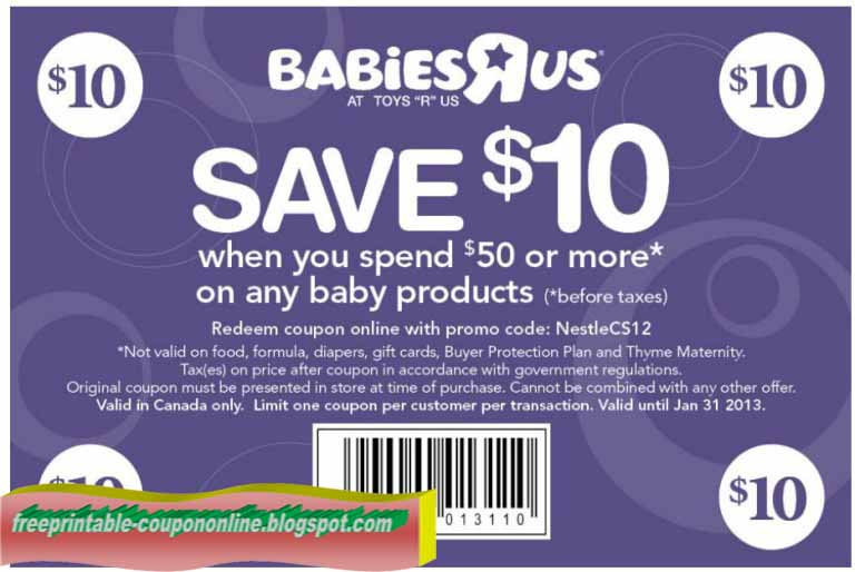 Coupon code for babies r us