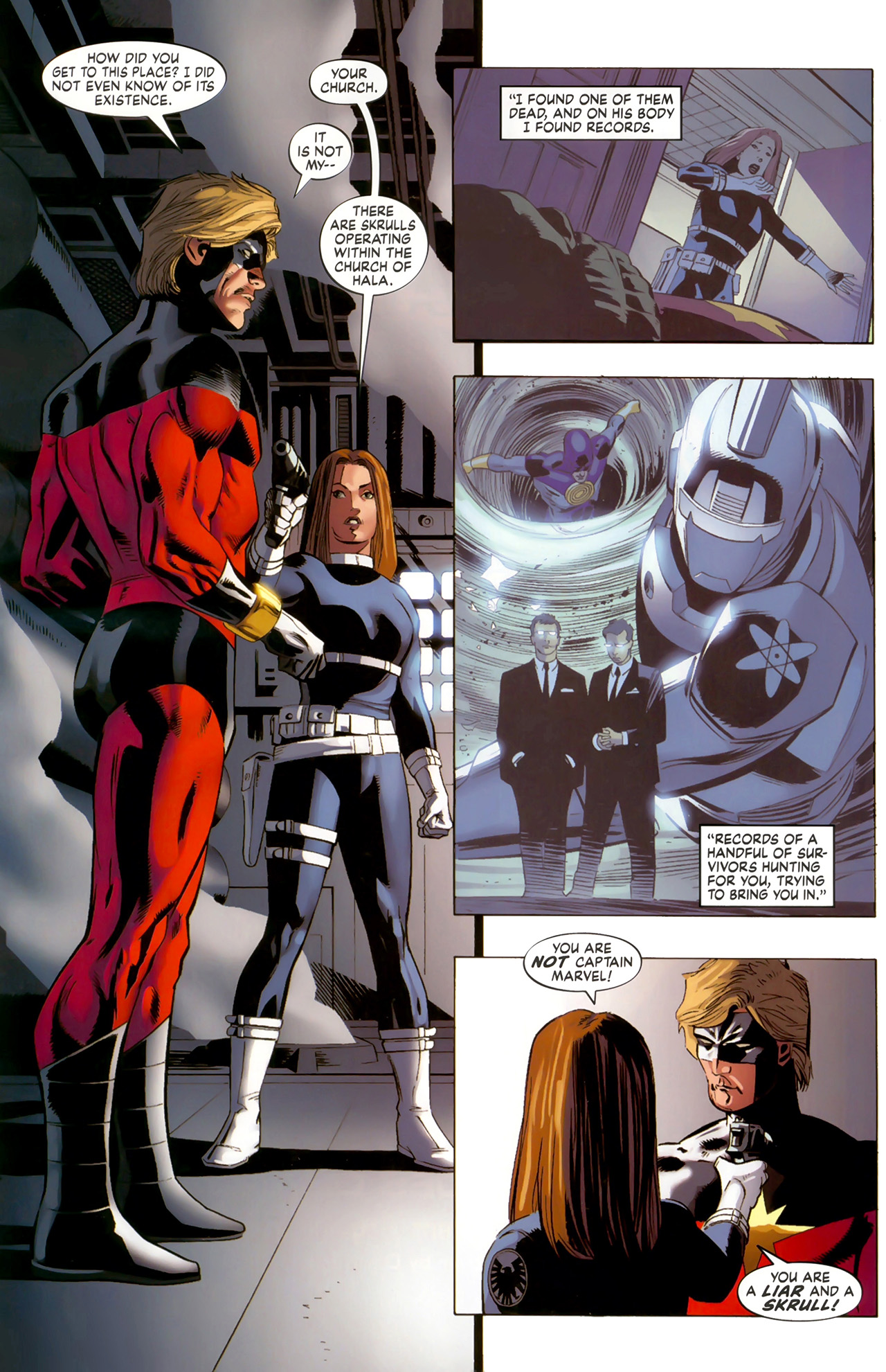 Read online Secret Invasion: The Infiltration comic -  Issue #6 - 13