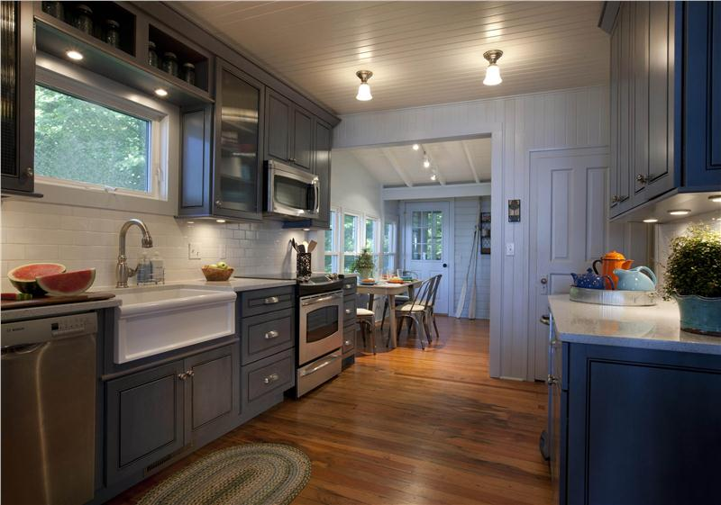 Kitchen Decorating Interior Ideas With Open Dining Room Design Country Hardwood Floors Photos Images French