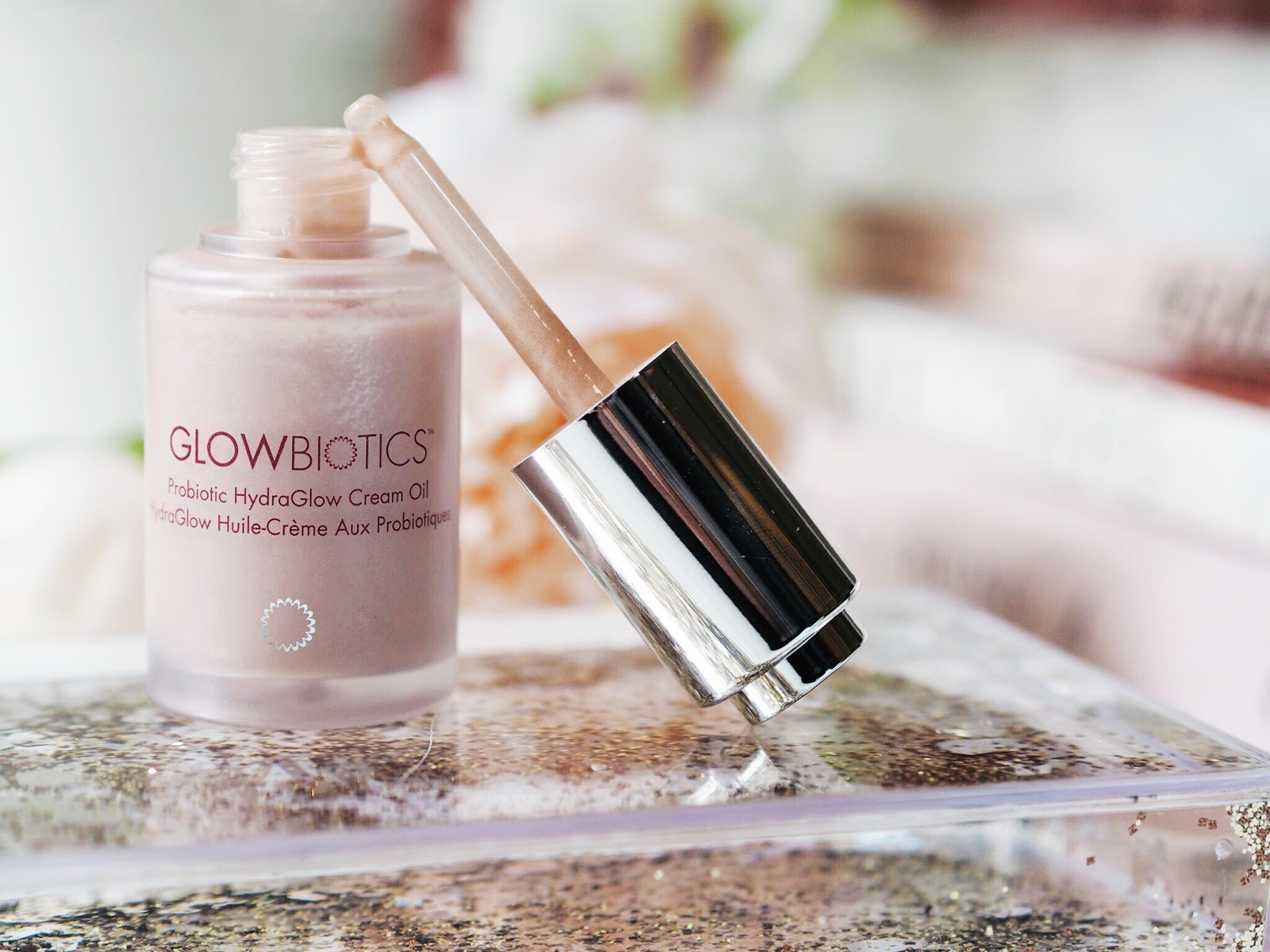 Glowbiotics probiotic hydraglow cream oil review