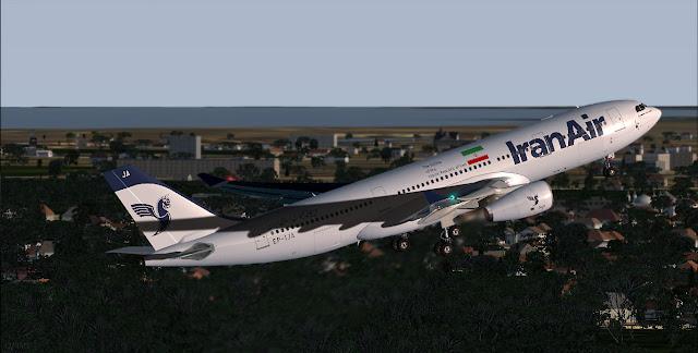 Airbus A330-243E / Iran Air / EP-IJA ~ justsomewritings