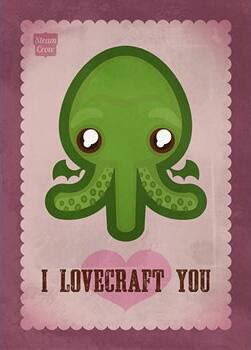 Meme de humor sobre Cthulhu y Lovecraft