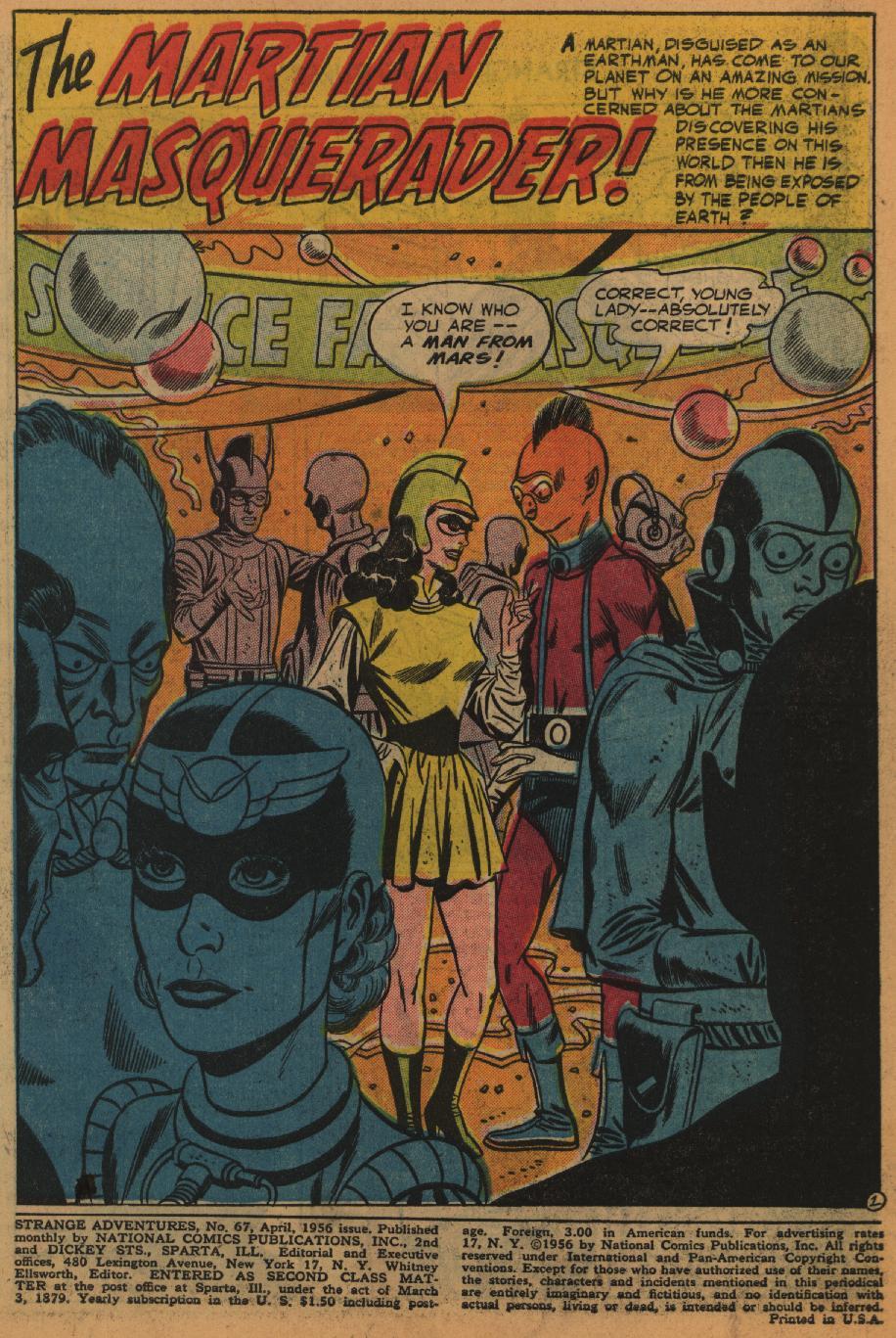 Strange Adventures (1950) issue 67 - Page 3