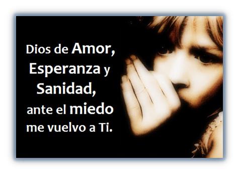 Oración para NO Tener Miedo