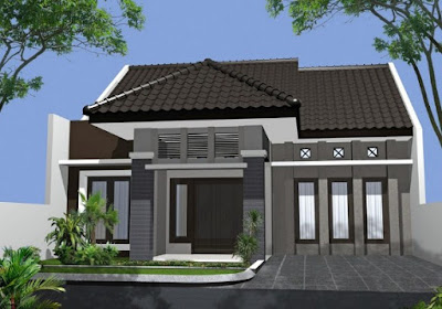 Gambar Rumah Idaman 1 Lantai dan 2 Lantai Sedang Trend ...