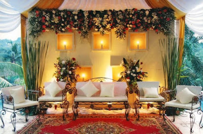 Dekorasi Pernikahan Minimalis