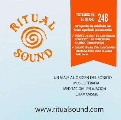 biocultura valencia ritual sound