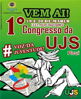 UJS realizará I Congresso Municipal da Juventude Picuiense